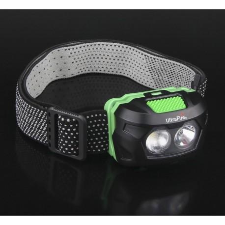 Linterna Ultrafire W05 de cabeza