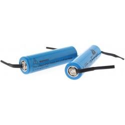 Batería Ultrafire 18650 3,7v 2400mA Azul Pcb