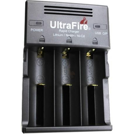 Cargador Ultrafire WF128 4 bahías