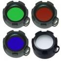 Filtros de colores 43mm para Ultrafire UF450-UF980-C8-ST3-ST4-UF2200-UF7T40