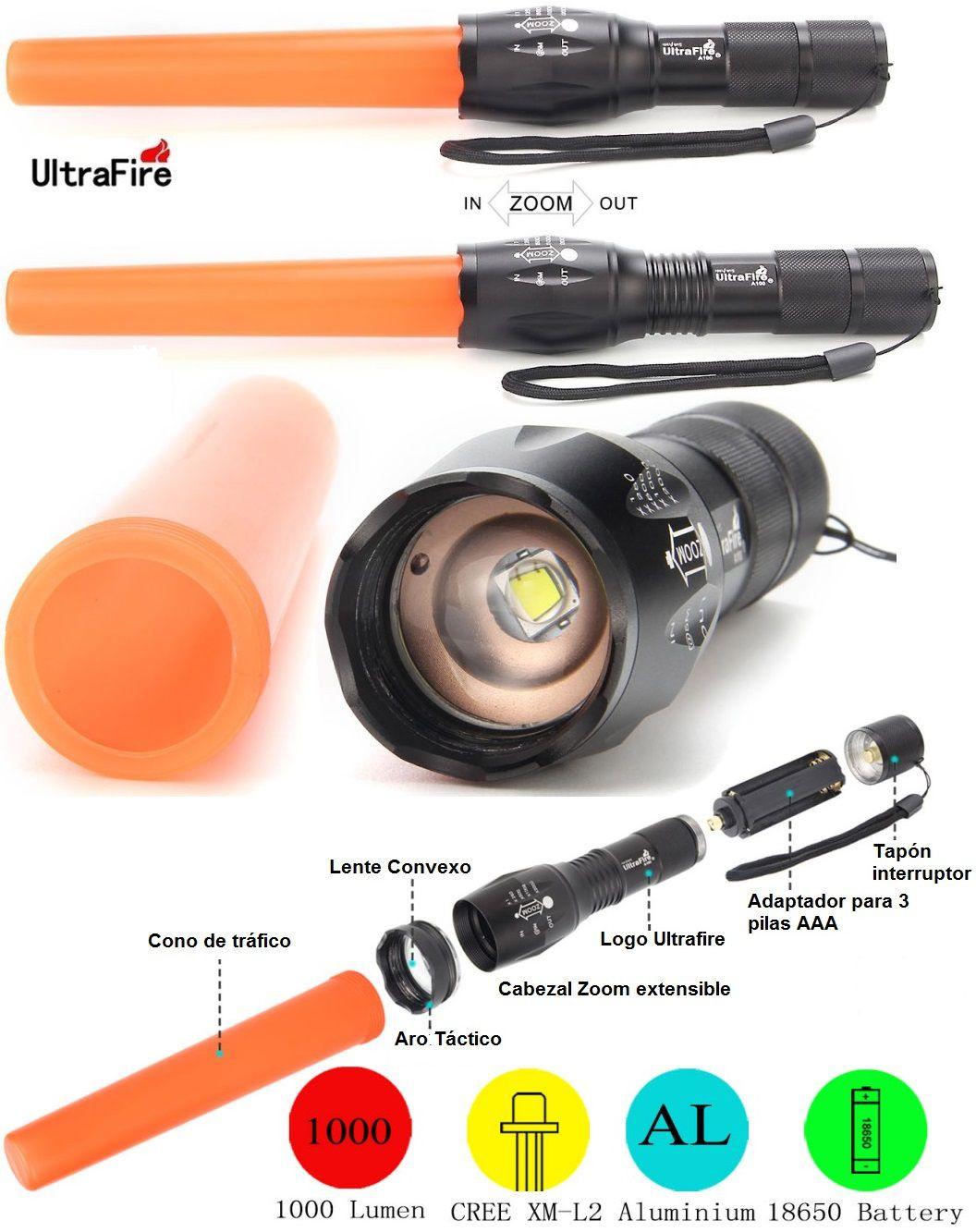 Ultrafire A100 Trafico