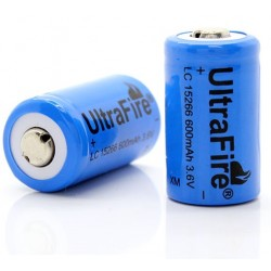 Batería Litio Ultrafire 15266 CR2 3.6v
