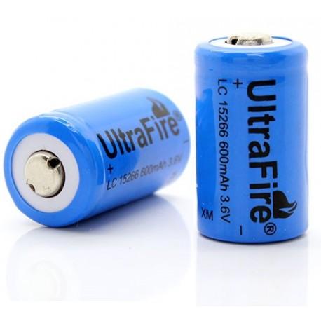 Batería Ultrafire TR15266 CR2 3.6v 600mA