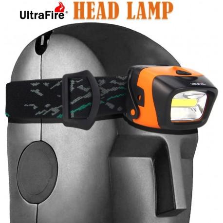 Linterna Ultrafire W01 de cabeza