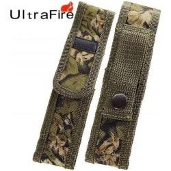 Funda Camuflaje cerrada 119 de Linternas Ultrafire