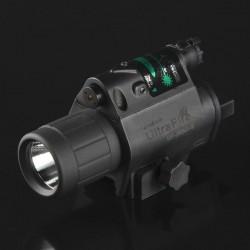 Linterna Led-Laser para Armas Ultrafire Combo