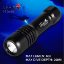 Linterna Ultrafire DIV18 Buceo