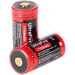 Batería Ultrafire UR18350 3,7v 1100mA Protegida
