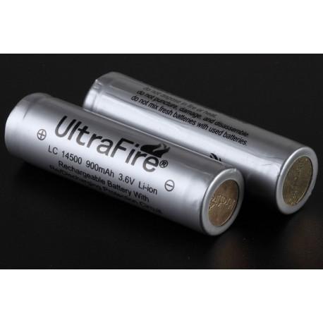 Ultrafire 14500 Protegida 3.6v 900ma gris
