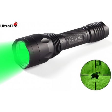 Linterna Ultrafire serie H de tres led