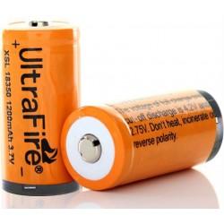 Batería Ultrafire XSL18350 3.7v.1200mA Protegida