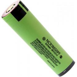 Batería Panasonic NCR18650PF de 3.7v 2.900mA Roja protegida