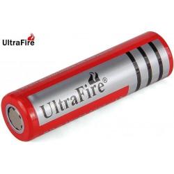 Batería Ultrafire BRC18650 de 3.7v 3.000mA Flat no protegida