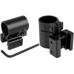 Soporte Montura Scope 20mm de Laser y Linternas para Rifles
