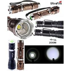 Linterna ULTRAFIRE ZOOM XM-T6 600Lm