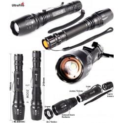 Linterna Zoom UltraFire X7 de 1000 Lúmenes