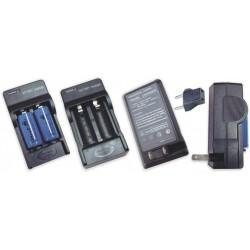 Cargador de 2 Baterías de Litio 16340 3.7v