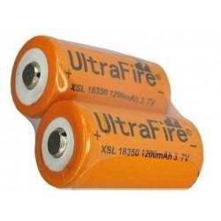 Batería de Litio 18350 3.7v 1200mA Ultrafire XSL