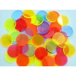 Filtros acrílicos de 40mm para linternas
