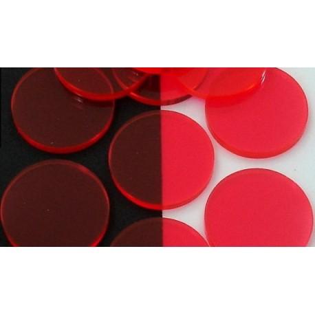 Filtros acrílicos Rojo