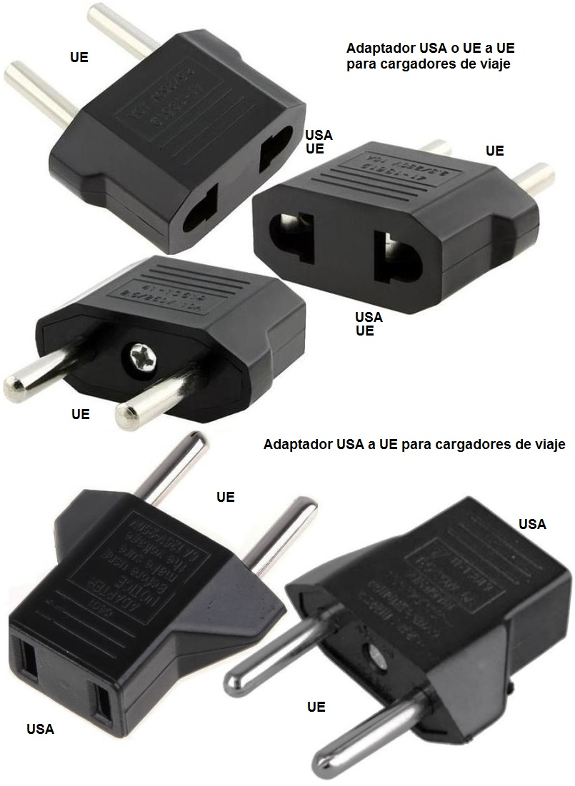 Adaptador USA-UE-UE